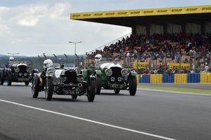 Jean-Marc Chris, Richard Braun, Philippe Granier, Aston Martin MK2, CV-506-WB, Nigel