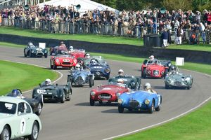 Madgwick Cup start, Goodwood Revival 2013
